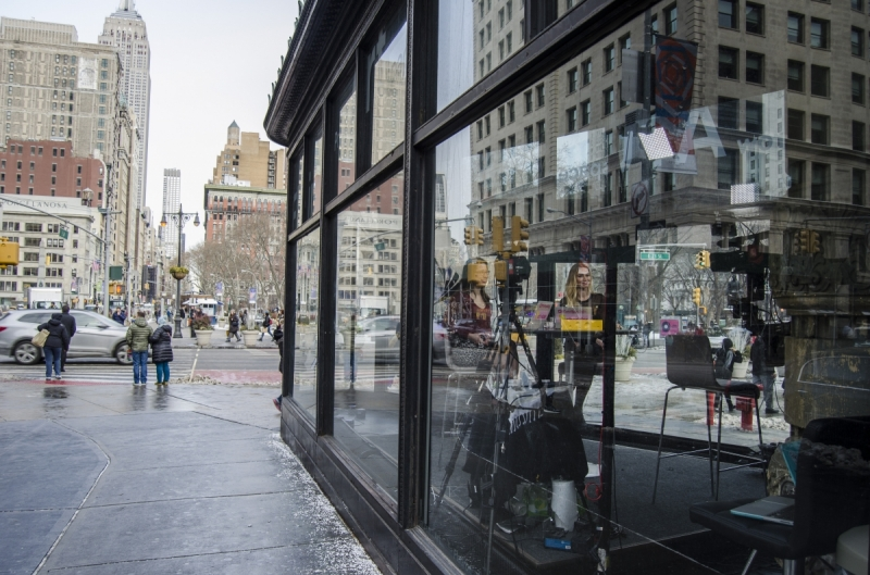 Street and architectural scenes from New York City