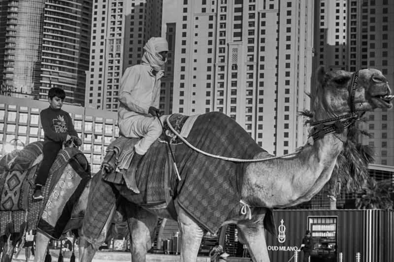 Street scene from Dubai